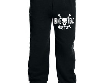 Mystery Science Theater 3000 MST3K Bonehead Sci Fi Sweatpants Lounge Pajama Comfortable Comfy Unisex Kids Youth Clothes Merch Massacre