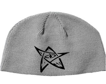 Elder Sign Eldritch Cthulhu Cthulu Ktulu HPL Lovecraft  Beanie Knitted Hat Cap Winter Clothes Horror Merch Massacre Christmas Black Friday