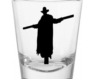 Jeepers Creepers Shot Glass Horror Halloween Drinking Bar Gift for Him Her Merch Massacre