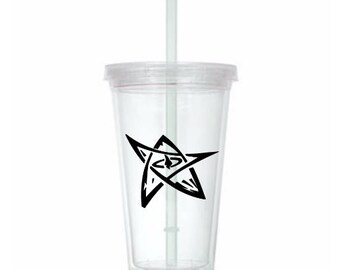 Elder Sign HP Lovecraft Cthulhu Horror Tumbler Cup Gift Home Decor Gift for Her Him Any Color Personalized Custom Merch Massacre