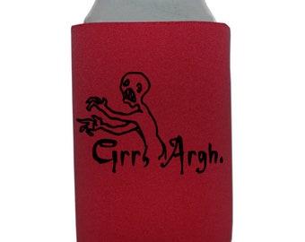 Buffy the Vampire Slayer Slay Sunnydale Bronze Grr Argh Halloween Horror Can Cooler Can Sleeve Bottle Holder Merch Massacre