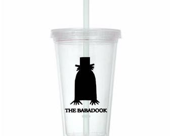 Babadook Horror Tumbler Cup Gift Home Decor Gift for Her Him Any Color Personalized Custom Merch Massacre