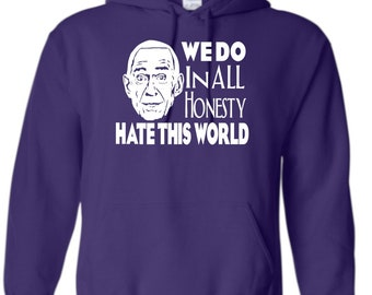 Heaven's Gate Cult Marshall Applewhite Quote Unisex Hoodie Pullover Hooded Sweatshirt Many Sizes Colors Horror Halloween Merch Massacre
