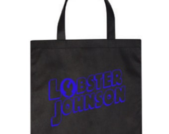 Hellboy Lobster Johnson Paranormal Research Defense BPRD Canvas Tote Bag Market Pouch Halloween Merch Massacre Black Friday Christmas