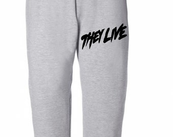 They Live Halloween Horror Sweatpants Lounge Pajama Comfortable Comfy Unisex Kids Youth Clothes Merch Massacre