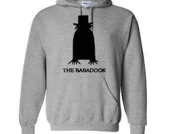 Babadook Unisex Hoodie Pullover Hooded Sweatshirt Many Sizes Colors Custom Horror Halloween Merch Massacre