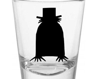 Babadook Shot Glass Horror Halloween Drinking Bar Gift for Him Her Merch Massacre