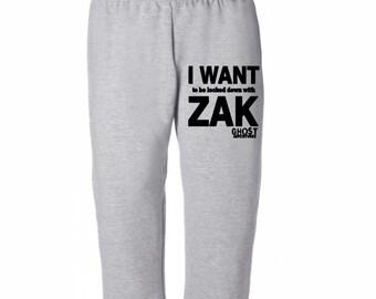 Lock Down Zak Bagans Ghost Adventures Sweatpants Lounge Pajama Comfortable Comfy Mens Womens Clothes Merch Massacre