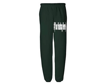 Social Media Hashtag # @ Follow Instagram Twitter Snapchat Custom Sweatpants Lounge Pajama Comfort Comfy Mens Womens Clothes Merch Massacre