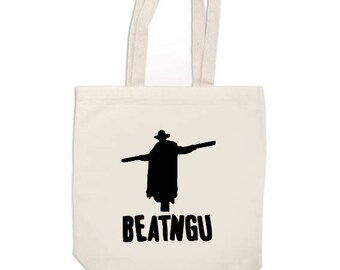 Jeepers Creepers Beatngu Horror Canvas Tote Bag Market Pouch Grocery Reusable Merch Massacre Black Friday Christmas