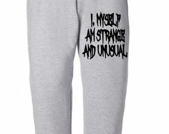 Strange and Unusual Beetlejuice Horror Sweatpants Lounge Pajama Comfortable Comfy Unisex Kids Youth Clothes Merch Massacre