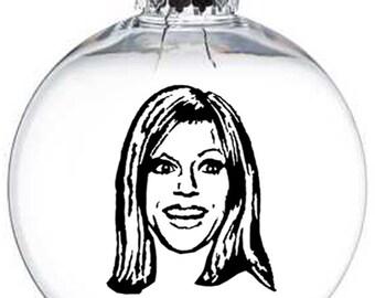 Always Sunny in Philadelphia Sweet Dee Mac Frank Charilie Reynolds Christmas Ornament Glass Disc Holiday Horror Black Friday Merch Massacre