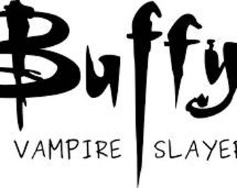 Buffy The Vampire Slayer Horror Vinyl Car Decal Bumper Window Sticker Any Color Multiple Sizes
