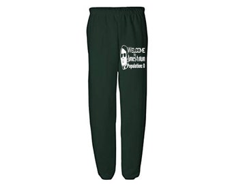 Jim Jones Jonestown Cult Leader True Crime Funny LOL Horror Sweatpants Lounge Pajama Comfortable Comfy Mens Womens Clothes Merch Massacre