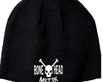 Mystery Science Theater 3000 MST3K Bonehead Beanie Knitted Hat Cap Winter Clothes Horror Merch Massacre Christmas Black Friday