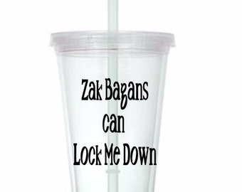 Lock Down Zak Bagans Ghost Adventures Tumbler Cup Gift Home Decor for Her Him Any Color Personalized Custom Merch Massacre