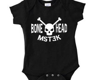 Mystery Science Theater 3000 MST3K Bonehead Infant Baby Kids Children Shirt Bodysuit Many Sizes Colors Horror Halloween Merch Massacre