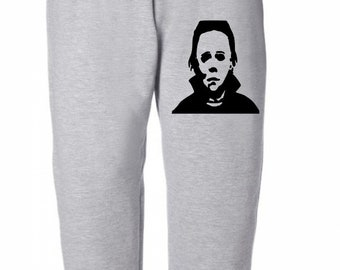 Michael Myers Halloween Horror Sweatpants Lounge Pajama Comfortable Comfy Unisex Kids Youth Merch Massacre