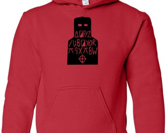 Zodiac Cipher Code Serial Killer True Crime Unisex Hoodie Pullover Sweatshirt Sizes Colors Custom Horror Halloween Merch Massacre