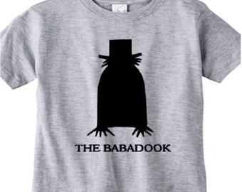 Babadook T Shirt Kids Children Toddler Many Sizes Colors Custom Horror Halloween Merch Massacre
