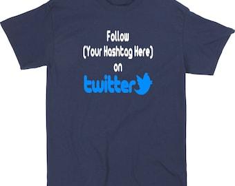 Social Media Twitter Hashtag Follow # @ Instagram Snapchat YouTube Funny LOL Kid Toddler Children T Shirt Sizes Colors Custom Merch Massacre