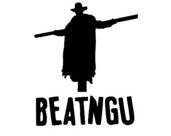 Jeepers Creepers Beatngu Horror Vinyl Car Decal Bumper Window Sticker Any Color Multiple Sizes Custom Halloween