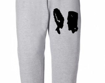 Bride and Frankenstein Halloween Horror Sweatpants Lounge Pajama Comfortable Comfy Unisex Kids Youth Clothes Merch Massacre