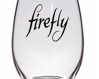 Firefly Serenity Joss Whedon Horror Halloween Wine Pint Glass Tumbler Alcohol Drink Cup Barware Merch Massacre