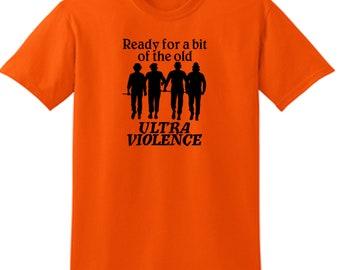 Clockwork Orange Droogs Ultra Violence Ultraviolence Clock Work Horror Kid Children Toddler T Shirt Many Sizes Colors Custom Merch Massacre
