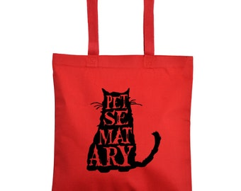 Pet Sematary Sometimes Dead is Better Canvas Tote Bag Market Pouch Grocery Reusable Merch Massacre Black Friday Christmas