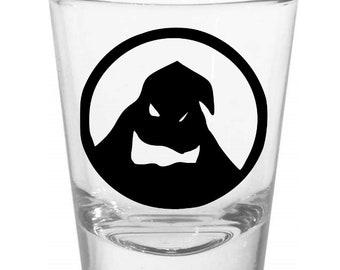 Oogy Boogy Nightmare Before Christmas Shot Glass Horror Halloween Drinking Bar Gift for Him Her Merch Massacre