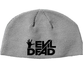 Evil Dead Army of Darkness Bruce Campbell Ash Boomstick Beanie Knitted Hat Cap Winter Clothes Horror Merch Massacre Christmas Black Friday