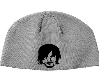 Walking Dead Daryl Dixon Walker Norman Reedus Zombie  Beanie Knitted Hat Cap Winter Clothes Horror Merch Massacre Christmas Black Friday