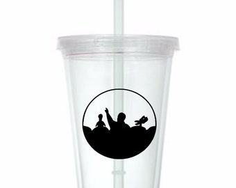Mystery Science Theater 3000 MST3K Horror Tumbler Cup Gift Home Decor Gift for Her Him Any Color Personalized Custom Merch Massacre