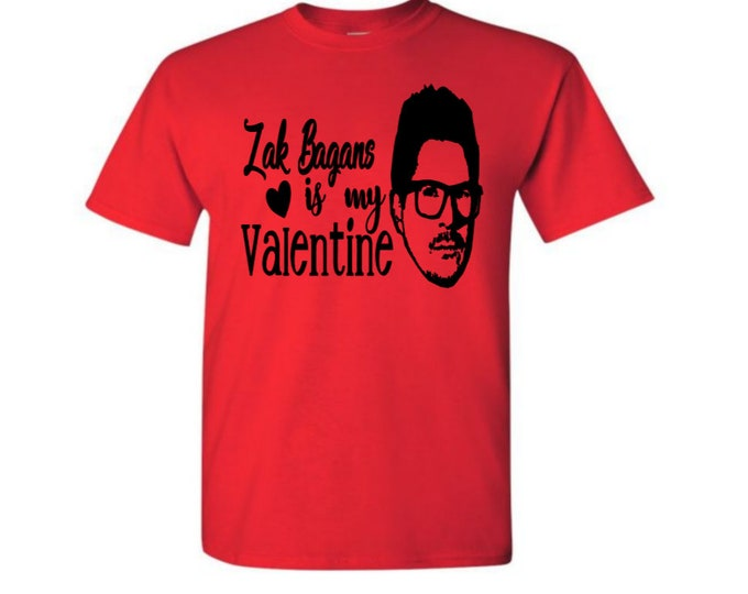 Featured listing image: Zak Bagans Ghost Adventures Supernatural Valentine's Day T Shirt Clothes Many Sizes Colors Custom Horror Halloween Merch Massacre