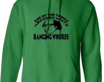 It's Always Sunny in Philadelphia Frank Reynolds Whores TV Funny Comedy Unisex Hoodie Pullover Hooded Sweatshirt Many Sizes Colors Custom