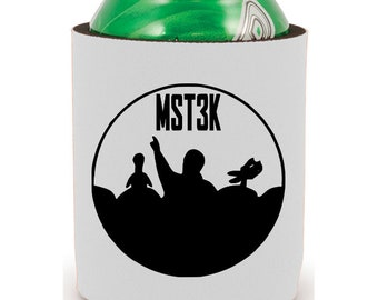 Mystery Science Theater 3000 Halloween Horror Can Cooler Can Sleeve Bottle Holder Merch Massacre