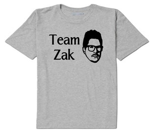 Team Zak Bagans Ghost Adventures T Shirt Clothes Many Sizes Colors Custom Horror Halloween Merch Massacre