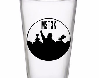 Mystery Science Theater 3000 Drinking Horror Pint Wine Glass Tumbler Alcohol Drink Cup Barware Halloween Scary Merch Massacre
