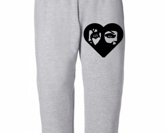 Chucky Tiffany Heart Childs Play Horror Sweatpants Lounge Pajama Comfortable Comfy Unisex Kids Youth Clothes Merch Massacre