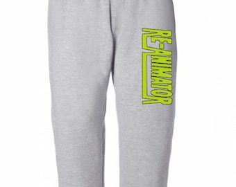 Re-Animator Herbert West Halloween Horror Sweatpants Lounge Pajama Comfortable Comfy Unisex Kids Youth Clothes Merch Massacre