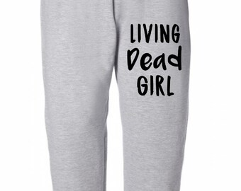 Living Dead Girl Horror Sweatpants Lounge Pajama Comfortable Comfy Mens Womens Clothes Merch Massacre