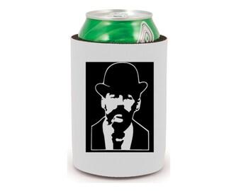 H.H. Holmes Murder Castle Serial Killer Murderer True Crime Halloween Horror Can Cooler Can Sleeve Bottle Holder Merch Massacre