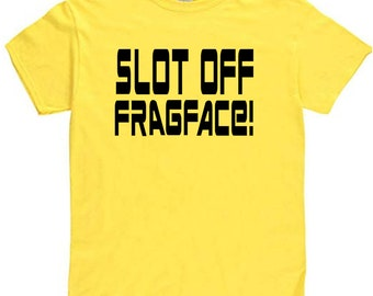 Shadowrun Funny Slot Off Frag Face Nerdy Sci Fi Gamer RPG Fantasy Shirt Clothes Many Sizes Colors Custom Horror Halloween Merch Massacre