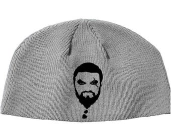 Khal Drogo Game of Thrones GOT Winter is Coming Beanie Knitted Hat Cap Winter Clothes Horror Merch Massacre Christmas Black Friday