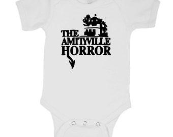 Amityville Horror Baby Infant Kids Children Shirt Bodysuit Many Sizes Colors Custom Horror Halloween Merch Massacre