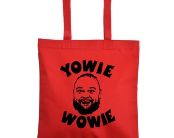 Bray Wyatt Yowie Wowie Firefly Pro Wrestling Wrestler Fan Gear Clothes Sports Canvas Tote Bag Market Pouch Grocery Reusable Merch Massacre