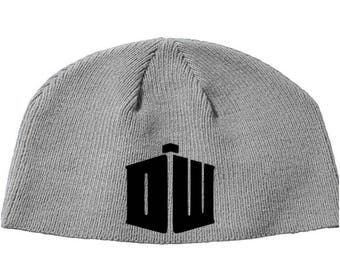 Doctor Who  Dalek Dr. Exterminate BBC  Beanie Knitted Hat Cap Winter Clothes Horror Merch Massacre Christmas Black Friday