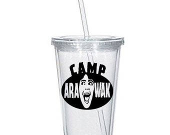 Sleepaway Camp Arawak Killer Slasher Eighties Horror Tumbler Cup Gift Home Decor Gift for Him Any Color Personalized Custom Merch Massacre