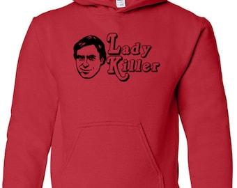 Ted Bundy Serial Killer True Crime Murderer Lady Killer Unisex Hoodie Pullover Sweatshirt Size Colors Custom Horror Halloween Merch Massacre